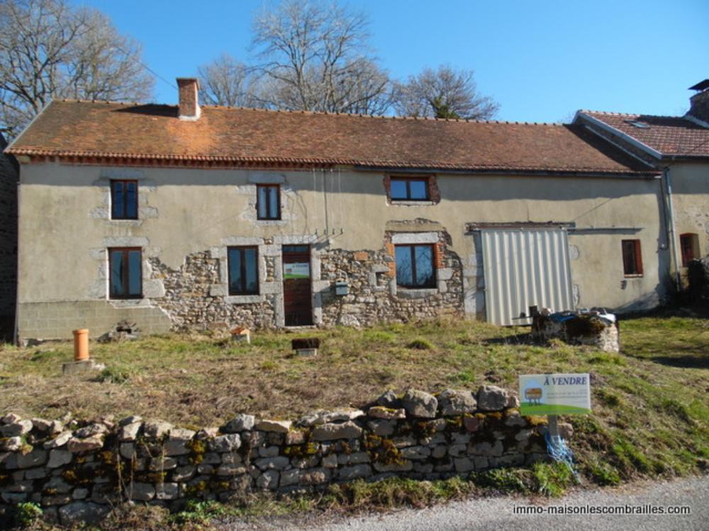 maison à vendre Dontreix, Creuse (Limousin) photo 1