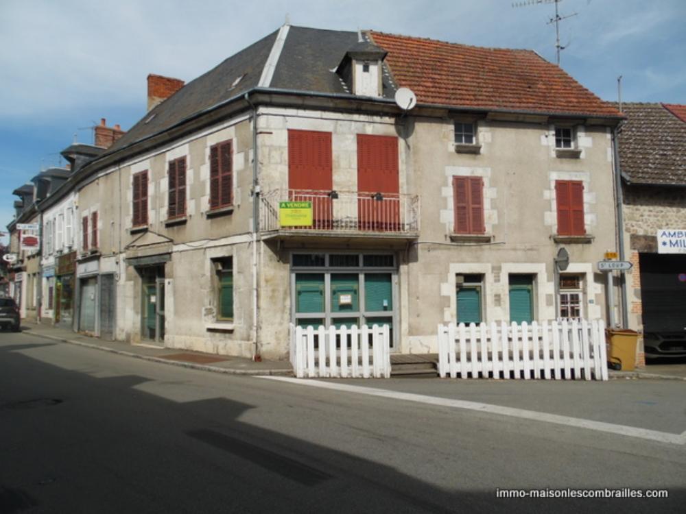 huis te koop Chénérailles, Creuse (Limousin) foto 1
