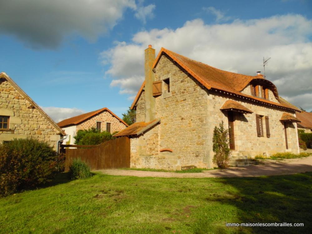 vrijstaand te koop Buxières-les-Mines, Allier (Auvergne) foto 1