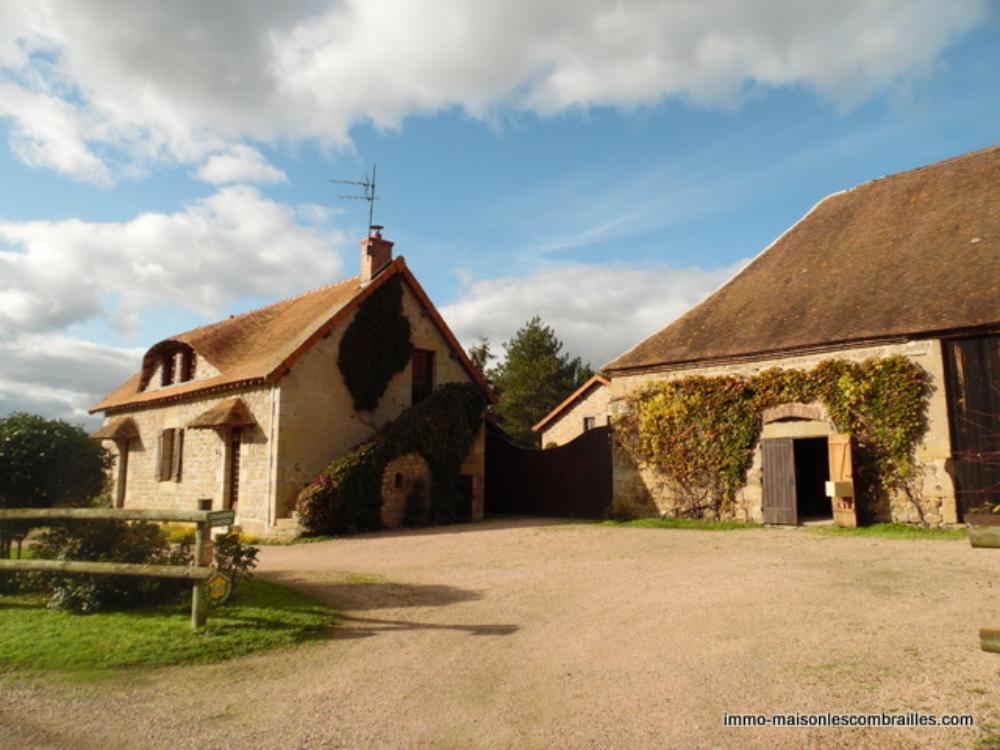 vrijstaand te koop Buxières-les-Mines, Allier (Auvergne) foto 2