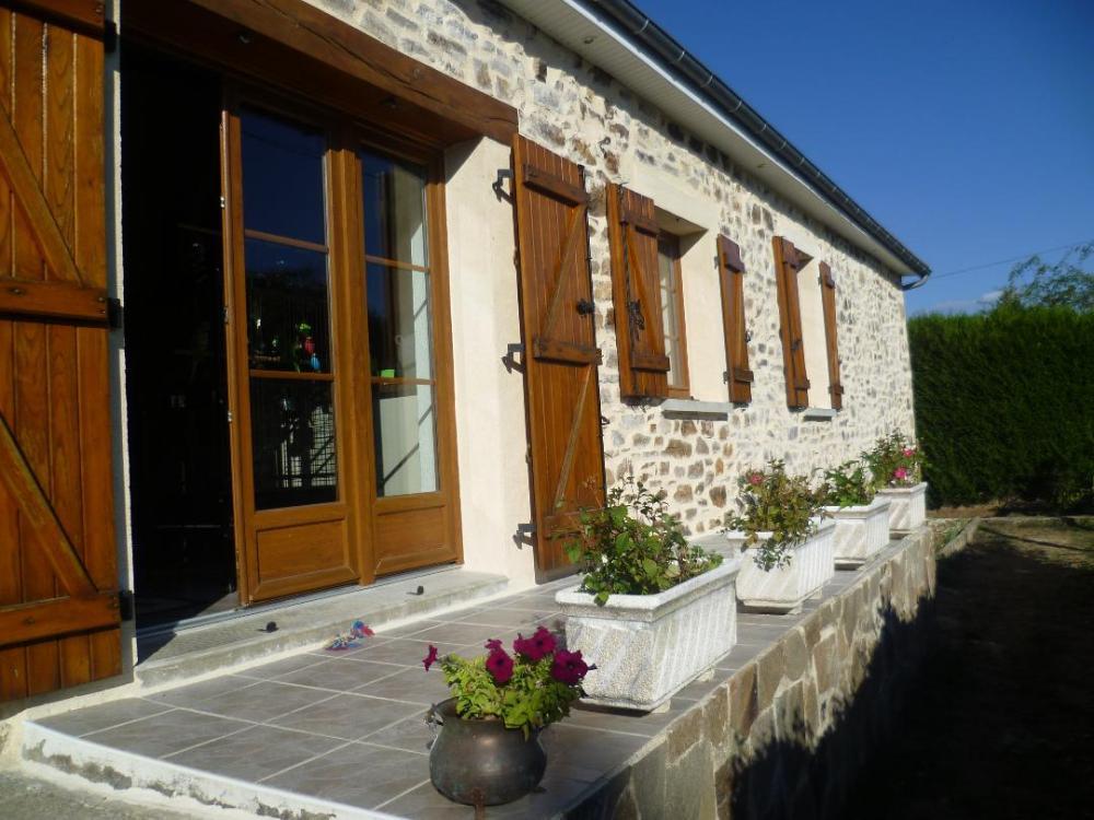 vrijstaand te koop Nouziers, Creuse (Limousin) foto 3