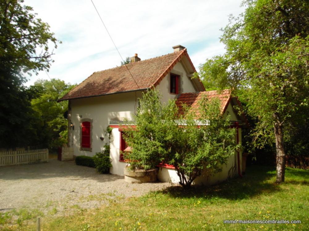 vrijstaand te koop Cressat, Creuse (Limousin) foto 1