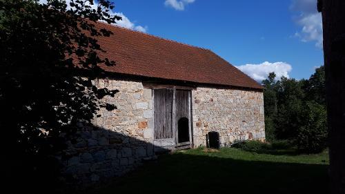 schuur, Saint-Silvain-Bellegarde, Creuse