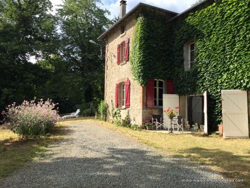 vrijstaand, Châtelus-le-Marcheix, Creuse